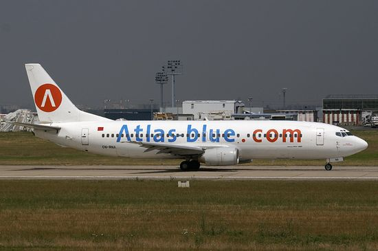 Boeing 737—400 компании Atlas Blue