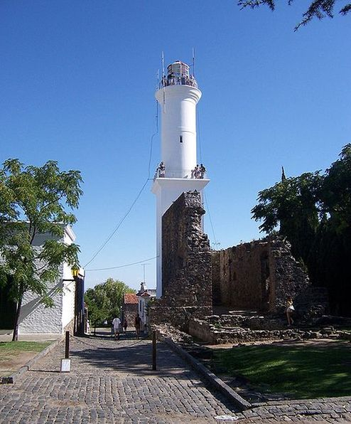 Lighthouse at Colonia del Sacramento
