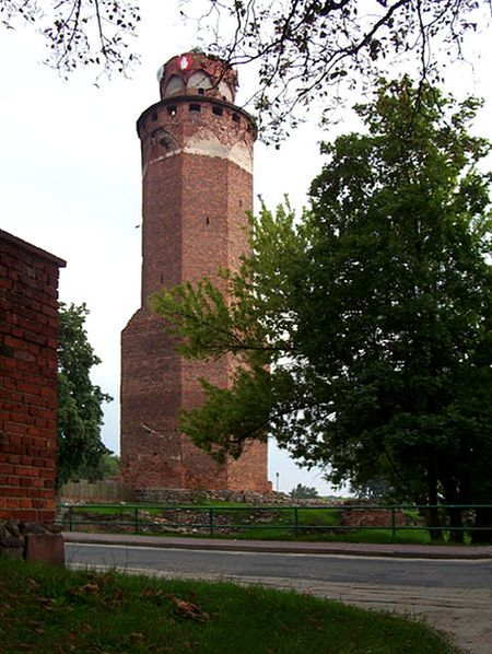 Castle in Brodnica (tower)